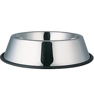 Indipets Stainless Steel No-Tip Dog Bowl