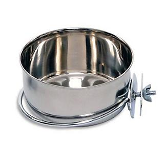 Indipets Stainless Steel Clamp-On Coop Cup