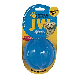 JW Play Place Squeaky Ball Dog Toy