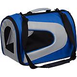 Pet Life Blue Zippered Sporty Mesh Pet Carrier