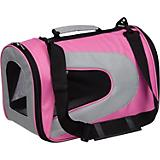 Pet Life Pink Zippered Sporty Mesh Pet Carrier