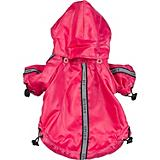 Pet Life Hot Pink Reflecta Sport Rain Jacket