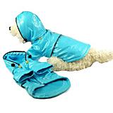 Pet Life Light Blue PVC Raincoat for Dogs