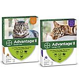 Advantage II for Cats 4-Month Supply