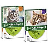 Advantage II for Cats 12-Month Supply