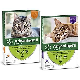 Advantage II for Cats 6-Month Supply