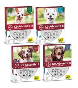 K9 Advantix Ii For Dogs 4 Month Supply Dogcom