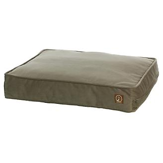 One for Pets Faux Suede Pillow Pet Bed Taupe