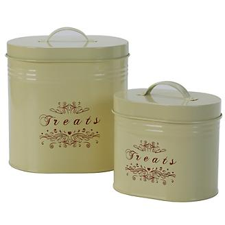 One for Pets Treat Canister Set