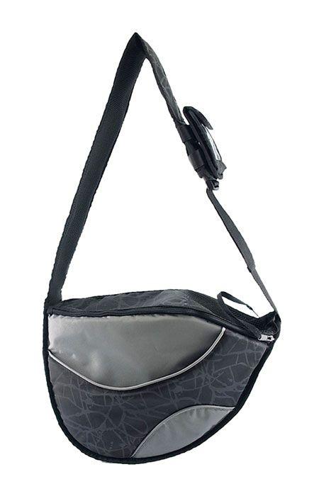 One for Pets Messenger Carrier Pet Bag Black