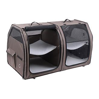One for Pets Portable Double Cat Show House