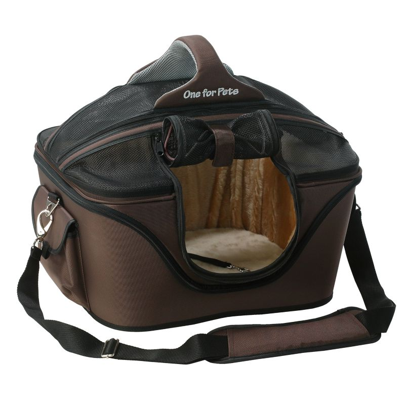One for Pets The Cozy Pet Carrier Small Brown