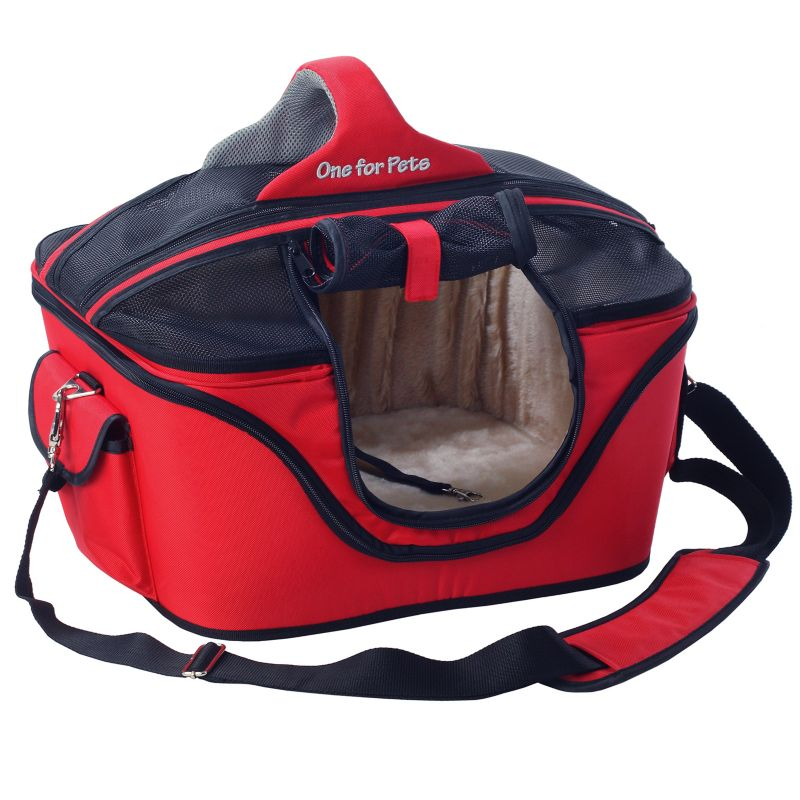 One for Pets The Cozy Pet Carrier Large Red