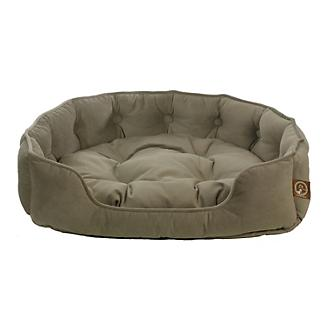 One for Pets Faux Suede Snuggle Pet Bed Taupe