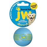 JW Pet iSqueak Rubber Squeaky Ball Dog Toy
