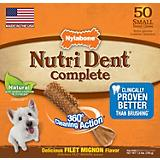 Nutri Dent Filet Mignon Dog Chew Pantry Pack