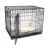 Image of Quiet Time Deluxe Double Bolster Pet Bed 54 inch