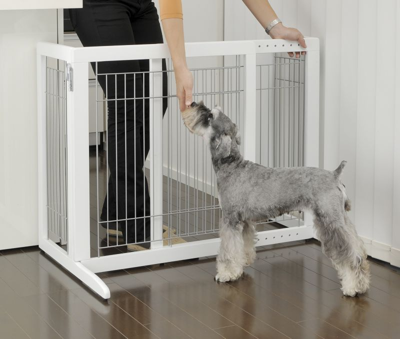 Beautiful Richell Freestanding Pet Gate HS Series