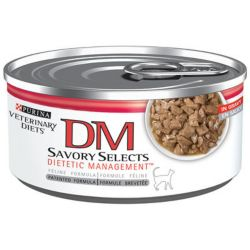 Purina Dm Dietetic Savory Select Can Cat Food 1800petsuppliescom