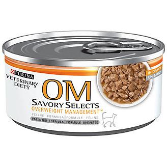 Purina OM Overweight Formula Can Cat Food 24pk