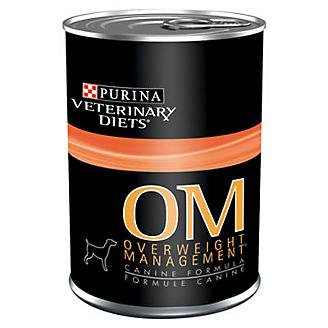 Purina OM Overweight Management Can Dog Food 12pk