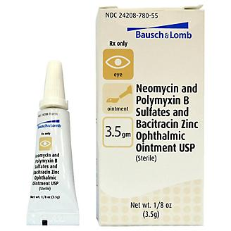 Neo-Poly-Bac Ophthalmic Ointment 3.5 gm
