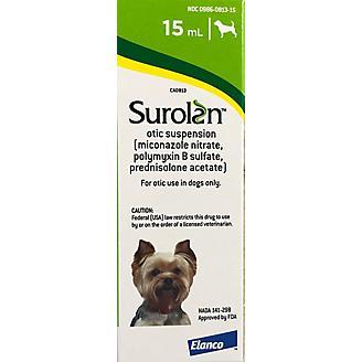 Surolan Otic Suspension Dogs