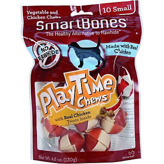 SmartBones Playtime Dog Chews Chicken