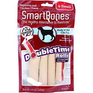 SmartBones DoubleTime Dog Chew Rolls Chicken