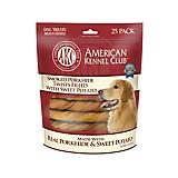 AKC Smoked Twists Sweet Potato Filled Dog Treats