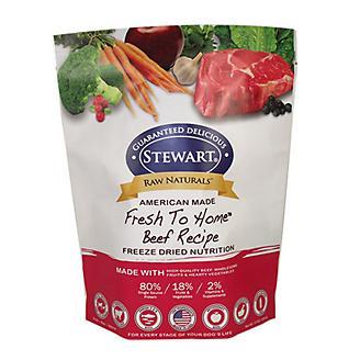 Stewart Raw Naturals Freeze Dried Food 12oz Beef
