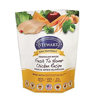 Stewart Raw Naturals Freeze Dried Food 12oz Chick