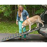 Pet Gear Extra-Wide Tri-Fold Reflective Pet Ramp