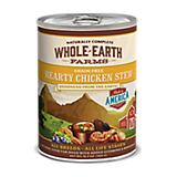 Whole Earth Farms Chicken Stew Can Dog Food 12pk