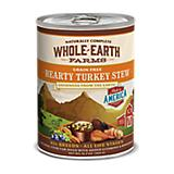 Whole Earth Farms Turkey Stew Can Dog Food 12pk