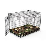 Buddy Beds Camo Memory Foam Hunting Crate Pad