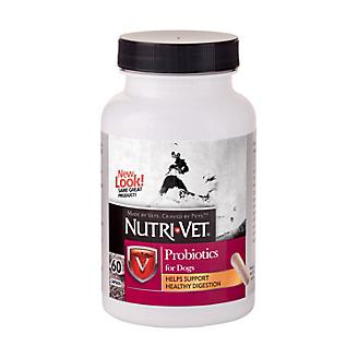 NutriVet Probiotic Capsules for Dogs 60 count