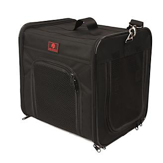 One for Pets Folding Carrier-The Cube Black