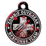 Zombie Outbreak Response Team Pet ID Tag