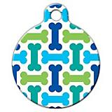 Cool Bones Pet ID Tag