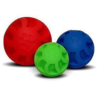 Swirl Ball Soft Flex Dog Toy
