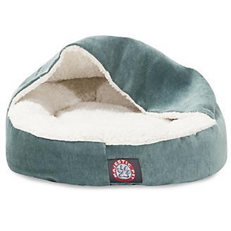 Majestic Pet 18in Villa Azure Canopy Pet Bed