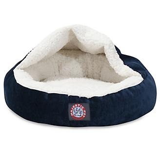 Majestic Pet 18 inch Villa Navy Canopy Pet Bed