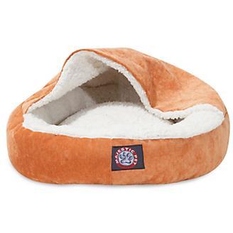 Majestic Pet 18in Villa Orange Canopy Pet Bed