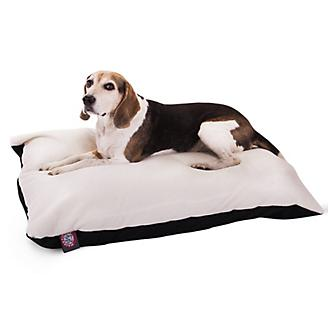 Majestic Pet Black Rectangle Pet Bed