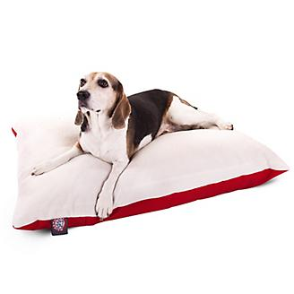 Majestic Pet Red Rectangle Pet Bed