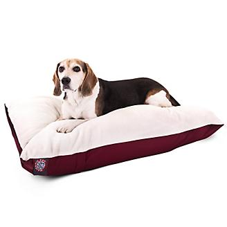 Majestic Pet Burgundy Rectangle Pet Bed