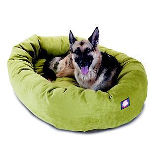 Outstanding Majestic Pet Fern Villa Bagel Pet Bed Creativecarmelina Interior Chair Design Creativecarmelinacom