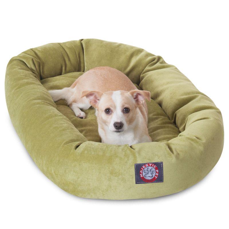 Majestic Pet Apple Villa Bagel Pet Bed 24 inch