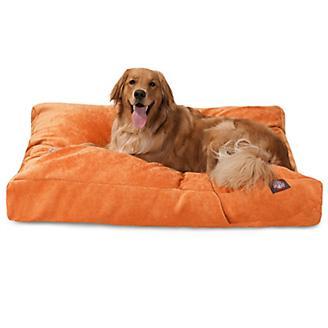 Majestic Pet Orange Villa Rectangle Pet Bed